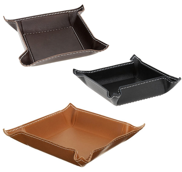 leather-trays pinched edge
