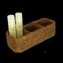 3 section basket 28x10x8 cm G988