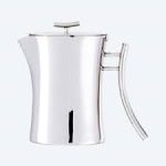 Bamboo Coffee Pot SilverP or SS