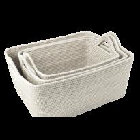 Baskets asia (3) 53x44x24 cm, 48x37x22 cm, 43x32x20 cm GB127
