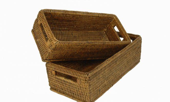 Baskets gill (set) 28x13x9, 25x11x9 cm G962