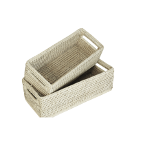 Baskets gill (set) 28x13x9, 25x11x9 cm  GB962