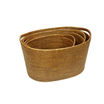 Vienna baskets (3) 68x45x39, 61x42x37, 49x37x31 cm G807
