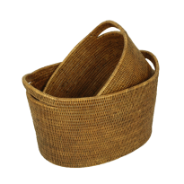 Vienna baskets small (2) 44x33x27, 37x28x21 cm G808