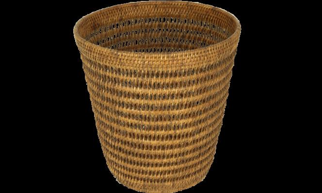 Waste basket castle Dia 28x32 cm G574