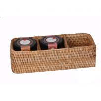 3 section basket 28x10x8cm GN988