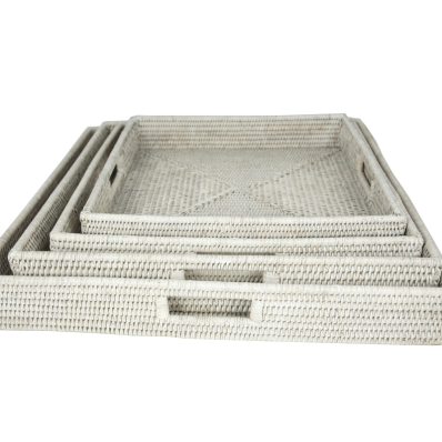 Breakfast trays 55x55x8, 50x50x8, 45x45x7, 40x40x7 cm GB737