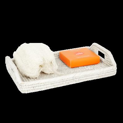 Rattan tray 30x20x6 cm Gb837