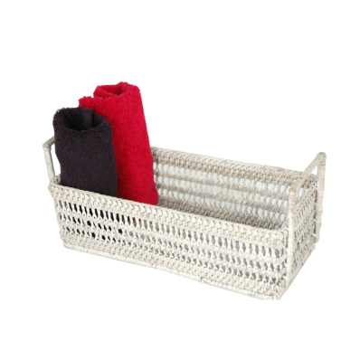 Towel-bread basket with handles 28x13x9 cm GB598