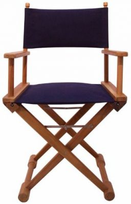blue teak chair. TEAKCHNAVY