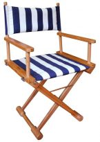 Teak Directors Chair U2013 Stipe