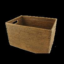 rectangular basket 41x27x25 cm G597