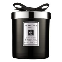 Dark Amber & Ginger Lily Cologne Intense Home Candle 200g JM145