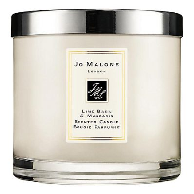 Lime Basil & Mandarin Deluxe Candle 600g JM148