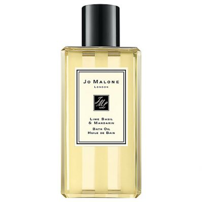 Lime Basil & Mandarin bath oil 250ml JM080