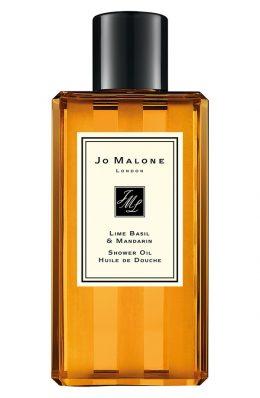 lime basil & mandarin shower oil 250ml JM091