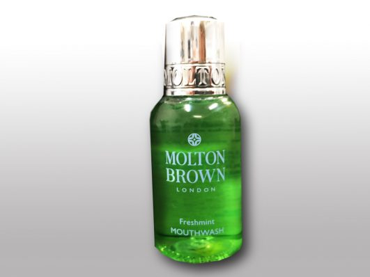 molten brown mouth wash