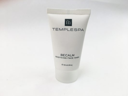 Temple Spa Be Calm face mask