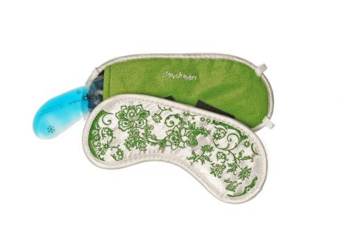 aloever sleep mask green v6007