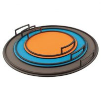 TV240-244 DEFILE ROUND TRAY GIOBAGNARA