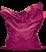fatboy bean bag - original rosa