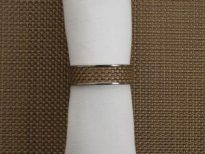 Chilewich - Napkin ring MINI BASKETWEAVE Ref 100324