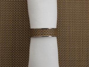 Chilewich - Napkin ring MINI BASKETWEAVE Ref 100324