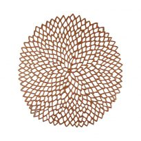 Chilewich - Placemat PRESSED VINYL DAHLIA Round Ref 100142