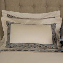 TATTOO DIAMOND BORDER SHAM-2