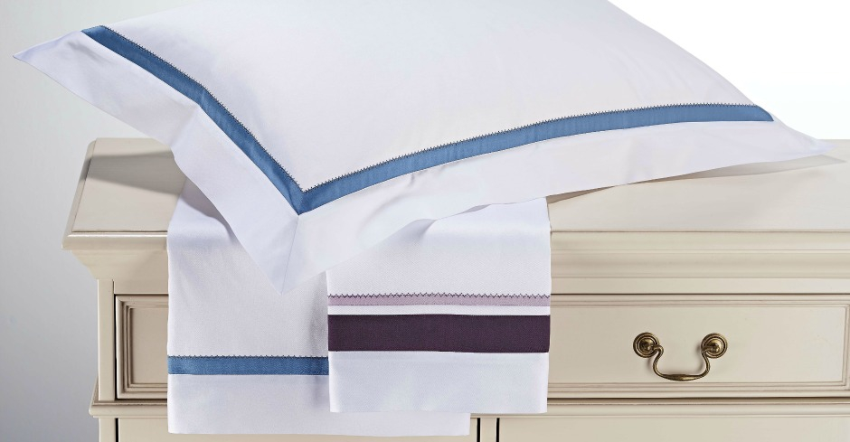 Zig Zag Inset Home Amp Yacht Linen And Interiors
