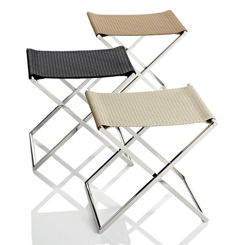 Folding Stool Luggage Rack Home Yacht Linen And Interiors
